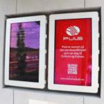 Caisson mural outdoor HYUNDAI 46 pouces – Lecteur média (USB) - Caisson extérieur information