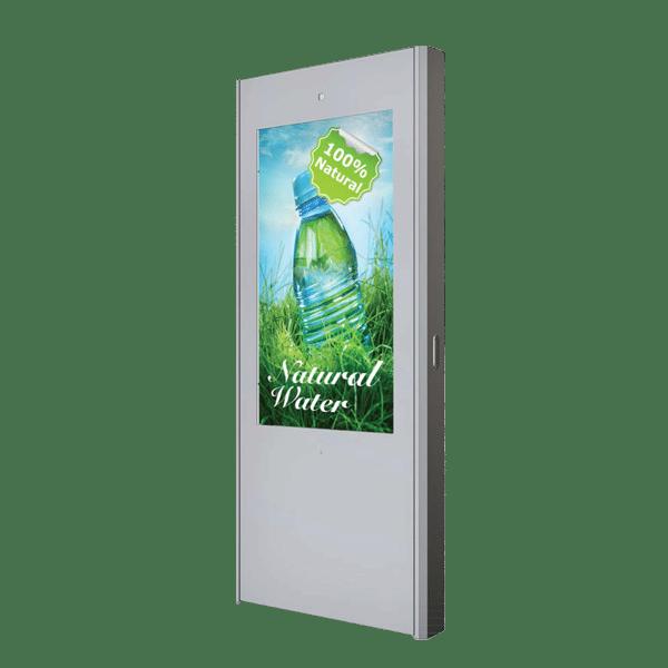 Borne tactile HYUNDAI 55 pouces simple face – Lecteur média (USB) - borne outdoor