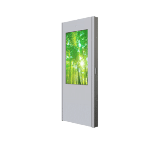 "Borne HYUNDAI 46"" simple face – Lecteur média (USB) - borne outdoor"