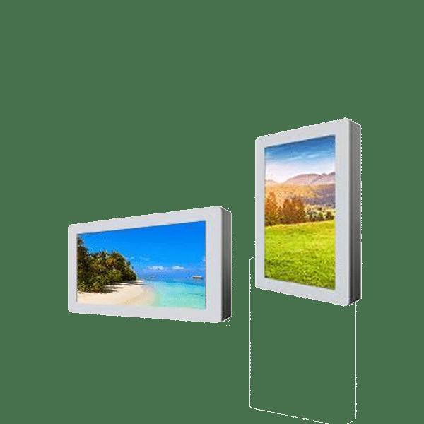 Caisson mural extérieur HYUNDAI 32 pouces – Lecteur média (USB) -