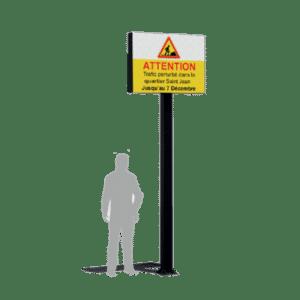 Mat LED - Sucette LED - Ecran Géant LED extérieur - Taille S -